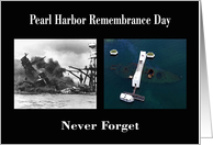 Pearl Harbor Day - USS Arizona & Memorial card