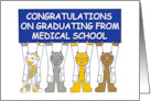 Congratulations on graduating from medical school. card