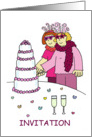 Party invitation to 'civil union celebration'. card