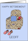 Happy Retirement from all of us, to customize. card