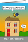 Happy Chinese New Year from New Home card