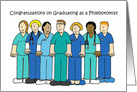 Phlebotomist Graduate Congratulations. card