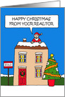 Happy Christmas from your realtor. card