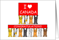 Congratulations on becoming a Canadian citizen. card