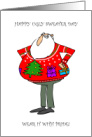 Ugly Sweater Day December 16th card