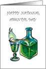 Absinthe Day March 5th card
