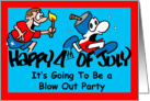 4th of July Party Invitation card