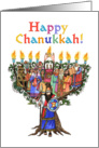Happy Chanukkah! card