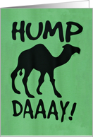 Happy Hump Day card