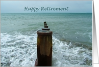 Groynes in the sea, Retirement Card