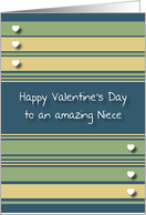 Happy Valentine's Day Niece card