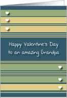 Happy Valentine's Day Grandpa card