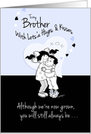 Brother, Birthday, Remember When We were Little card