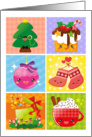 Christmas card – cute Christmas cartoons card