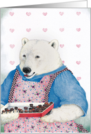 Box of Chocolates Birthday Bear card