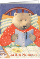 Bear Necessities Birthday Card