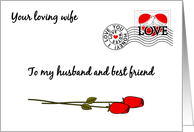 Christianity/Love & Romance/Husband-Love Note To Husband card