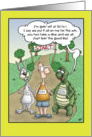 Tortoise and the Hare Cartoon, Betting on the Race card