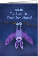 You Can Tie Your Own Shoes! With Bat Upside Down, Sneakers card