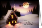 Business Holiday Christmas from Realtor card