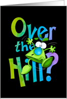 Happy Birthday Over the Hill Milestone card