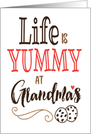 Grandparents Day – Life is Yummy at Grandmas! card