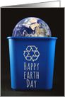 Happy Earth Day Recycling Bin card