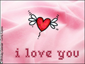 love, i love you, embroidery, heart, romance, romantic, valentine's day, valentine, pink, heart,