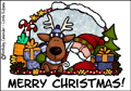 merry christmas ,santa,rudolph,presents,reindeer,tree, christmas tree, holiday, holidays, seasons greetings, christmas, xmas, happy holidays, winter, solstice,