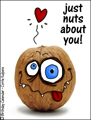 nuts about you,crazy,in love,love you,girlfriend,boyfriend,lover,hook up,