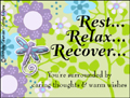 anything I can do, get well, feel better, ill, illness, sick, hangover, broken bone, patient, hospital, clinic, help, assist, assistance, bed rest, flu, cold, friend, best friend, boyfriend, girlfriend, bug, rest relax recover,