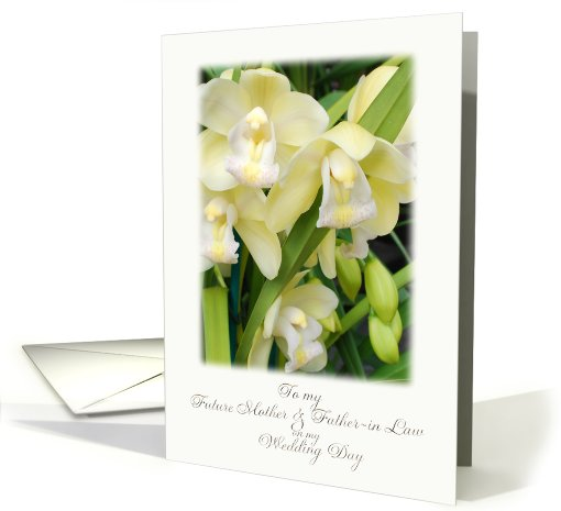 orchid future mother & father in law card (617033)