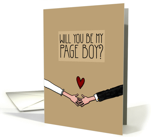 Will you be my Page Boy? card (1045663)