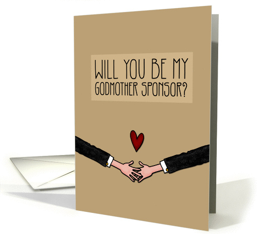 Will you be my Godmother Sponsor? - from Gay Couple card (1046027)