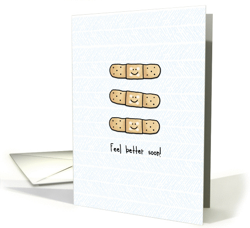 Feel Better Soon - bandages card (973405)