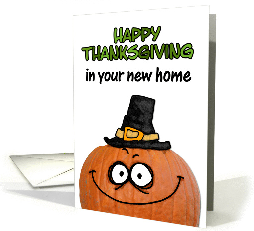 happy thanksgiving in your new home card (289614)