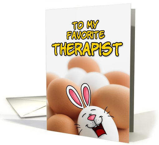 eggcellent easter - therapist card (400919)