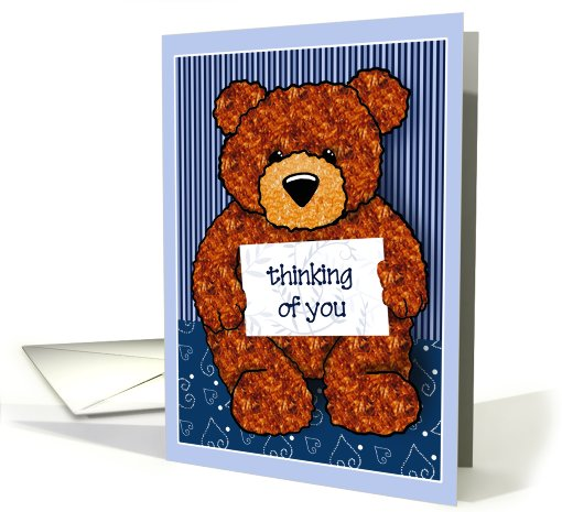 My Little Teddy Thinking of You Cards  Paper card (460231)