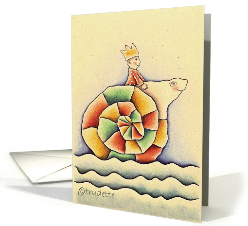 little prince card (54450)