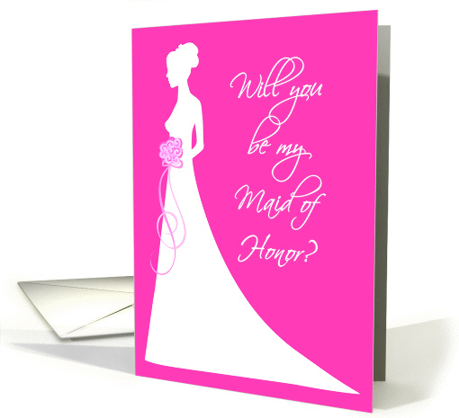 Will You Be My Maid of Honor? card (207807)