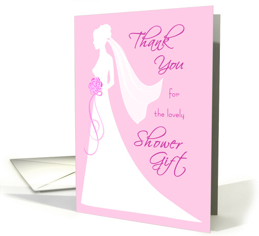 Thank You Card - Shower Gift card (273126)
