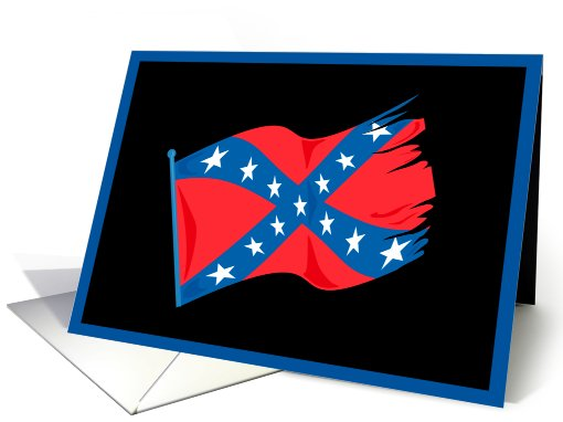 Celebrating Confederate Memorial Day card (611754)