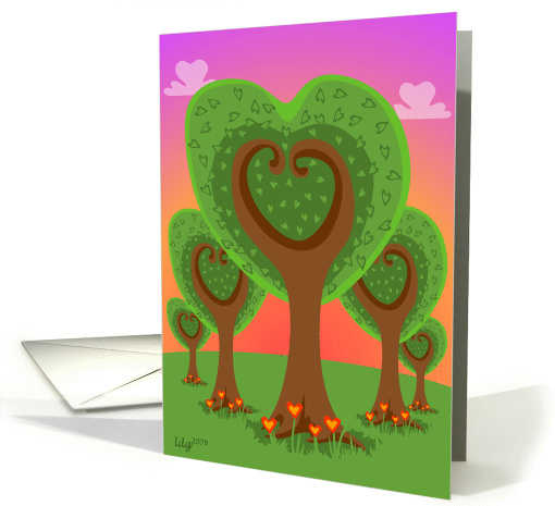 Forest of my Heart card (355633)