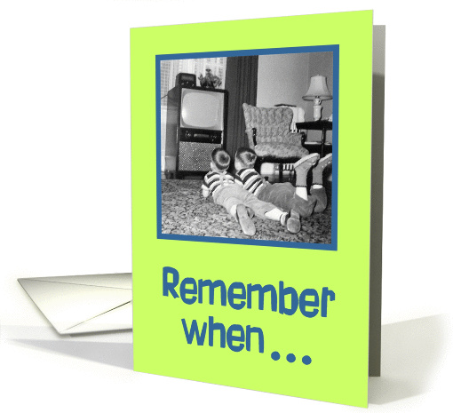 Remember When... card (84672)