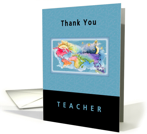 Thank You Teacher card (75871)