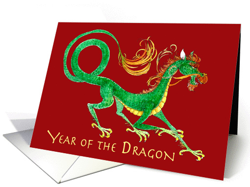 Chinese New Year of the Dragon card (894318)