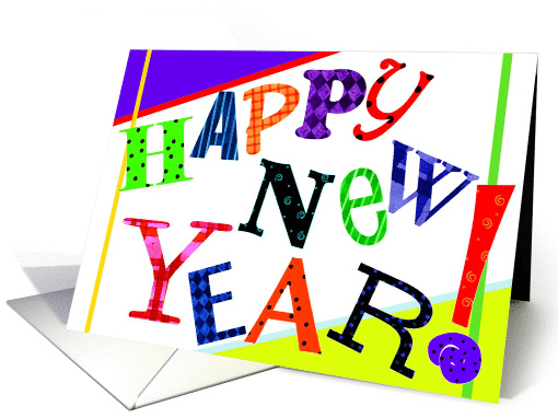 Happy New Year card (124199)