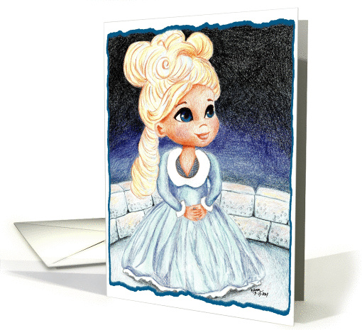 Cinderella Princess Debut Debutante Cotillion card (536647)