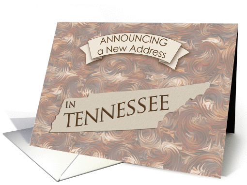 New Address in Tennessee card (1063609)