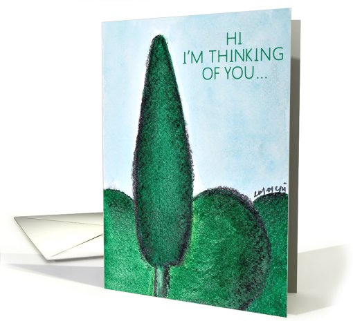 thinking of you card (470325)